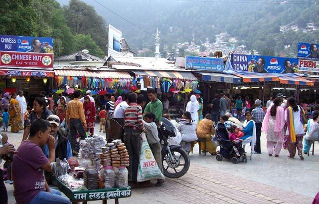The market is very good for visitors for shopping lovers where you can buy woollen garments,fashionable jackets,naughty Chinese lingerie's,night wears,toys,and some lovely fast food centre and some gift shop but do not buy buy perfumes all are fake,we love to buy colour candles which is famous in Nainital.